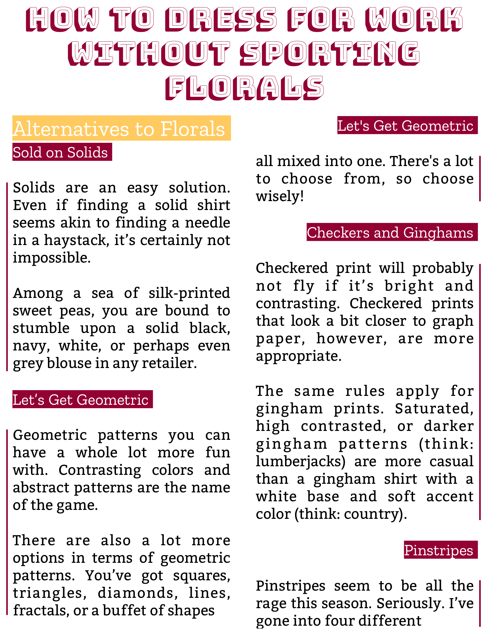 The Burgundy Zine #5: Culture Pg. 66