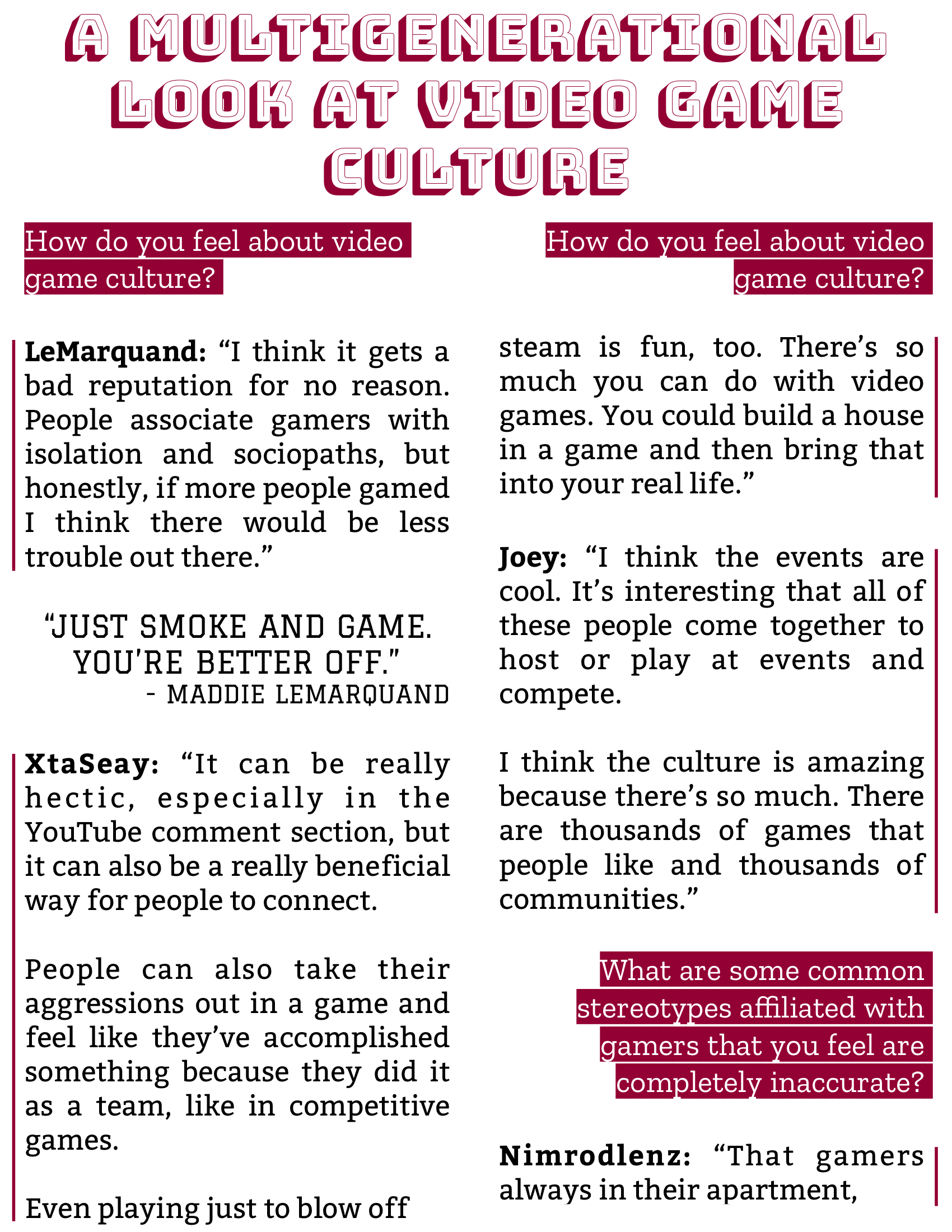 The Burgundy Zine #5: Culture Pg. 94