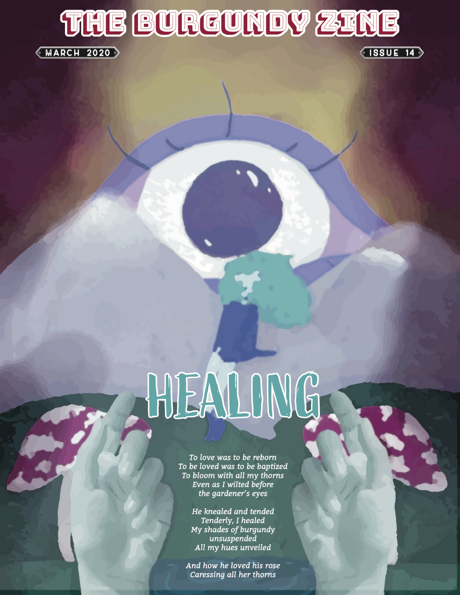 The Burgundy Zine #14: Healing