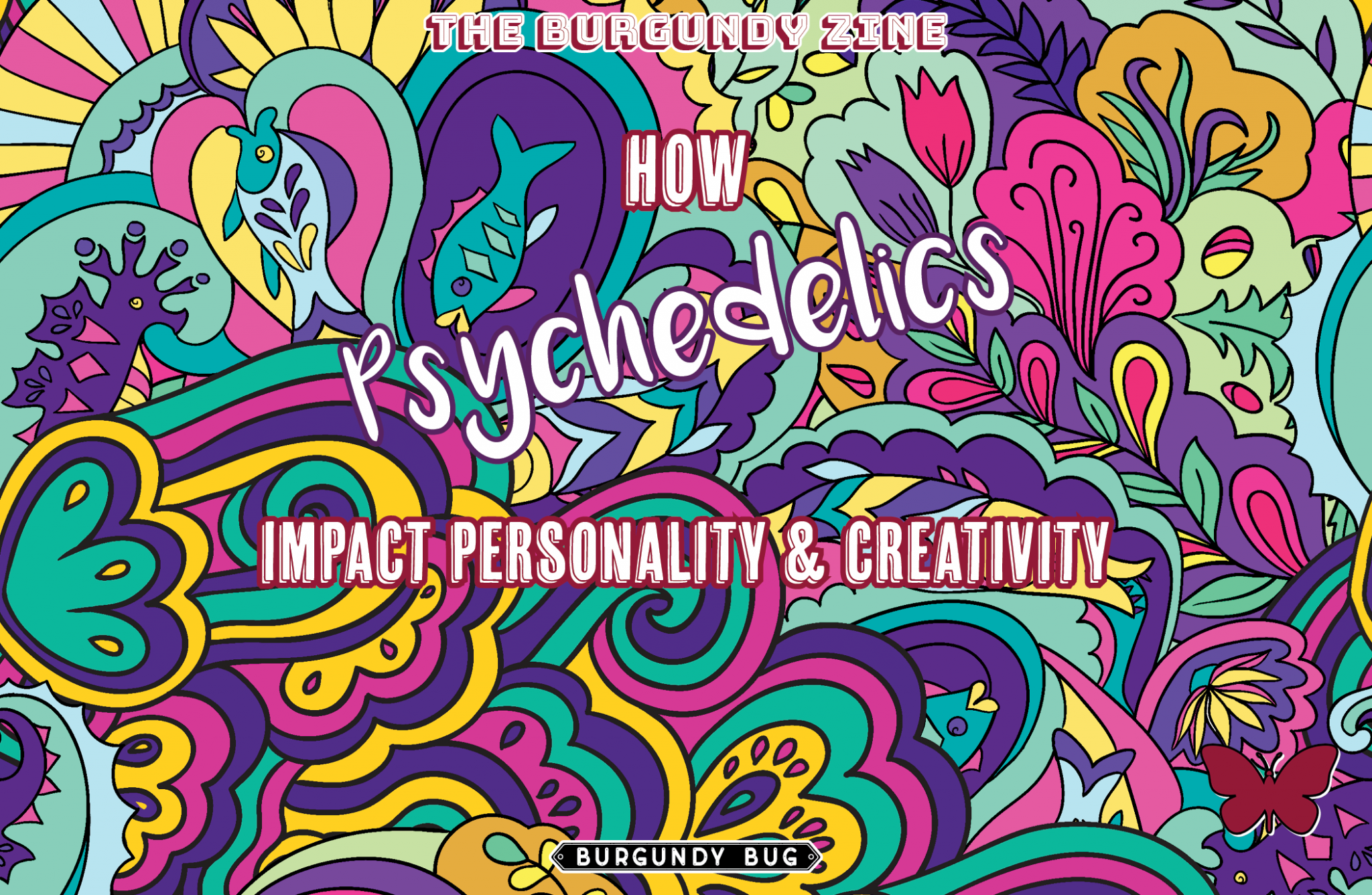 How Psychedelics Impact Personality and Creativity